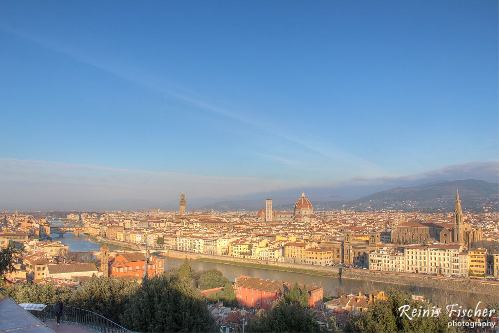 View towards Florence