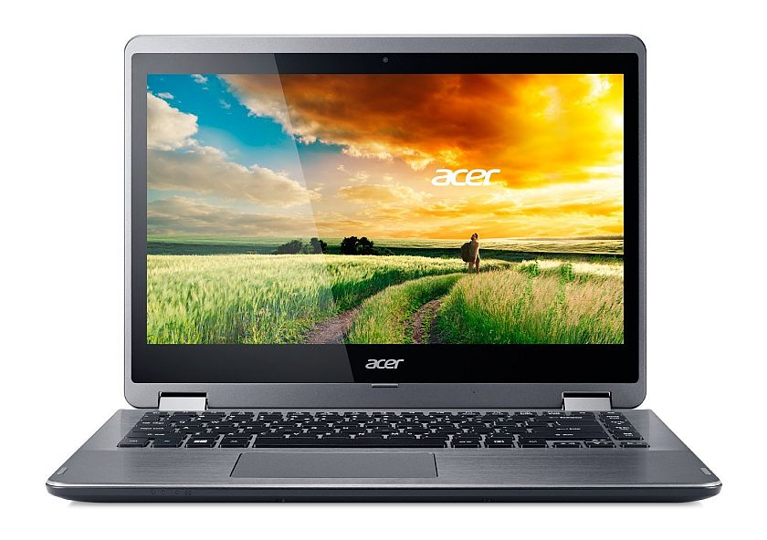 Roll over image to zoom in      Acer Aspire R 14 R3-471T-5039 14-inch HD Touch Notebook - Silver (Windows 10)