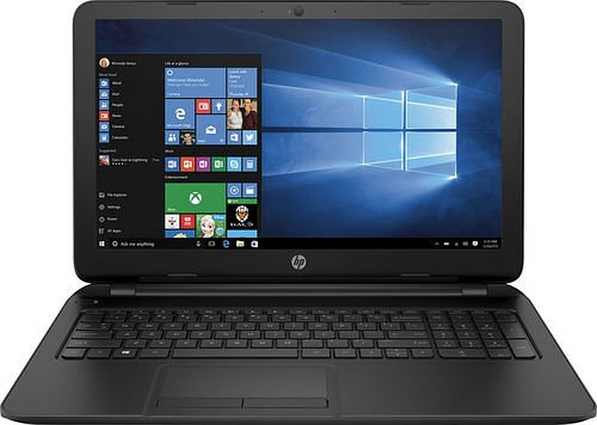"HP 15-f305dx 15.6"" Screen Laptop - AMD A6-5200 Processor/ 4GB Memory / 500GB HD / DVD±RW/CD-RW / Webcam / Windows 10"