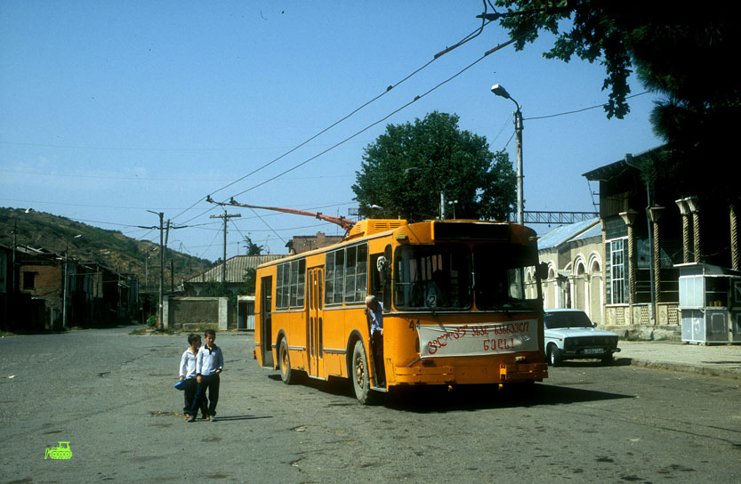 ZIU-9 Trolleybus in Gori