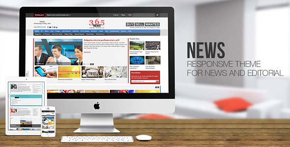 News - Online Magazine and Editorial Drupal Theme