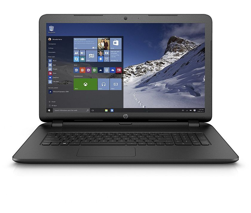 HP 17-p110nr 17.3-Inch Laptop (AMD A6, 6 GB RAM, 750 GB HDD)
