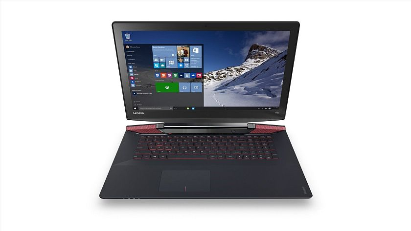 Lenovo Y700 17.3-Inch Gaming Laptop (Core i7, 16 GB RAM, 256 GB SSD, Windows 10) 80Q0000EUS