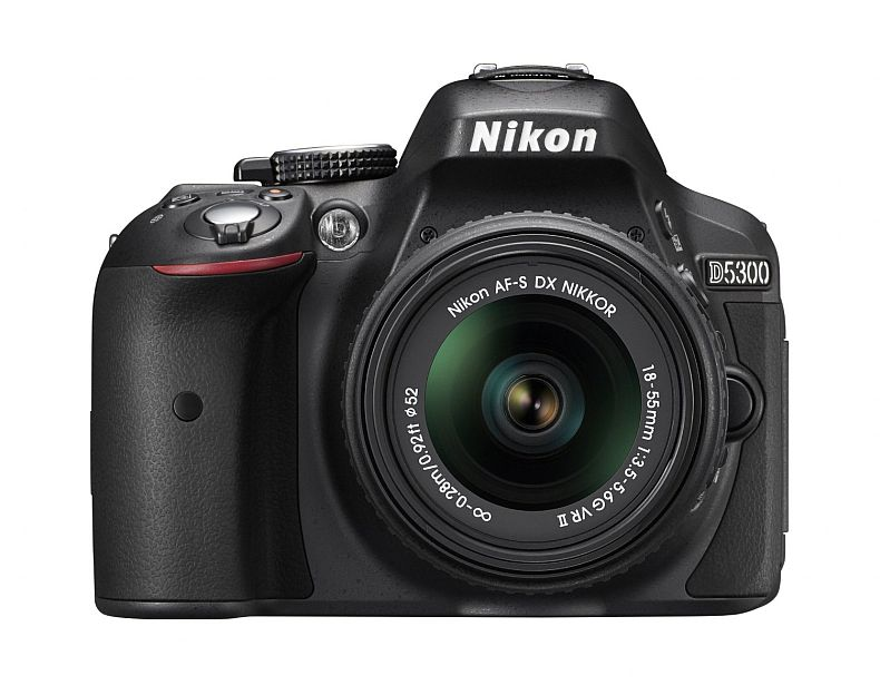 Nikon D5300 24.2 MP CMOS Digital SLR Camera with 18-55mm f/3.5-5.6G ED VR II Auto Focus-S DX NIKKOR Zoom Lens (Black)