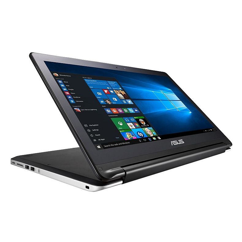 2016 New Asus Flip 2-in-1 15.6-inch High Performance Touchscreen convertible Laptop or Tablet, Intel Core i5-5200U(3M Cache, up to 2.7GHz), 4GB DDR3, 500GB HDD, DVD RW, Bluetooth, HDMI, Windows 10