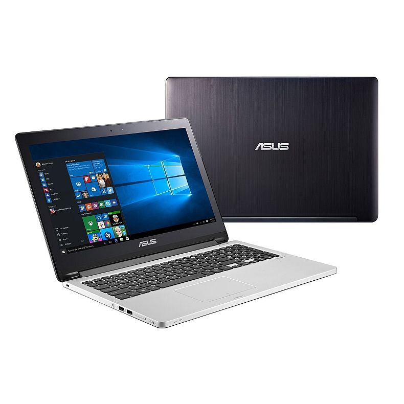 "2016 Newest Asus Flip 15.6"" High Performance 2-in-1 Touchscreen Convertible Laptop (Tablet) - Intel Dual-Core i5-5200U Processor up to 2.7GHz, 4GB RAM, 500GB HDD, DVD, WLAN, Bluetooth, HDMI, Win10"