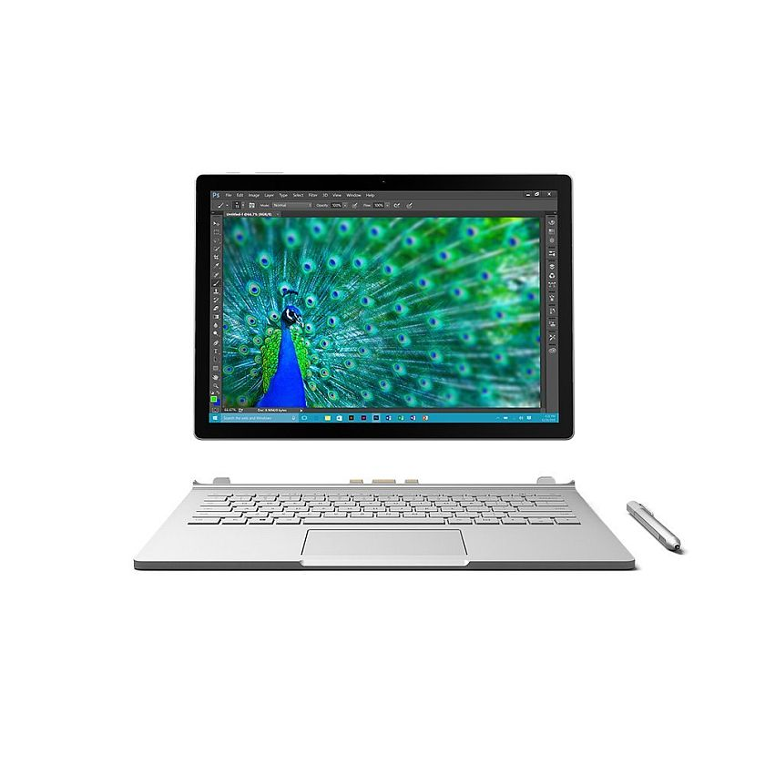 Microsoft Surface Book (256 GB, 8 GB RAM, Intel Core i5, NVIDIA GeForce graphics)