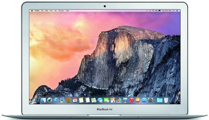 Click to open expanded view      Apple MacBook Air MJVE2LL/A 13-inch Laptop (1.6 GHz Intel Core i5,4GB RAM,128 GB SSD Hard Drive, Mac OS X)