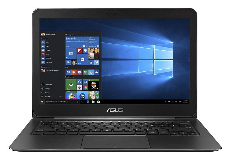 ASUS ZenBook UX305CA 13.3-Inch Touchscreen Quad-HD+ Laptop, 6th Gen Intel Core M, 8 GB RAM, 256 GB SSD, Windows 10