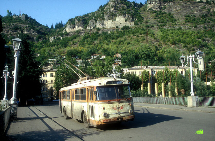 Trolleybus in Chiatura