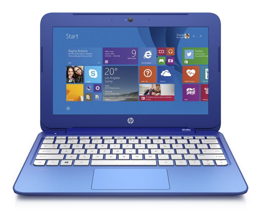 HP Stream 11.6 Inch Laptop (Intel Celeron, 2GB, 32GB SSD, Horizon Blue) Includes Office 365 Personal for One Year