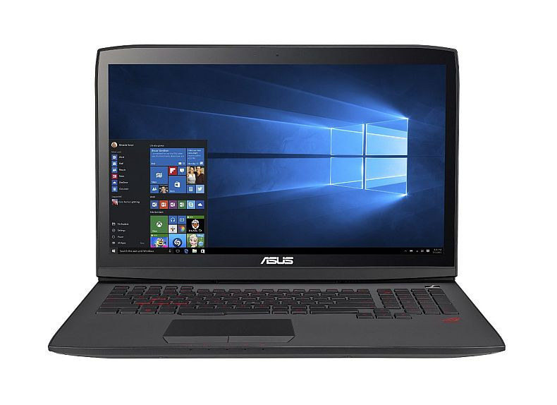 ASUS ROG G751JY-WH71(WX) 17-Inch Gaming Laptop, Nvidia GeForce GTX 980M 4GB DDR5 VRAM, 16 GB RAM, 128 GB SSD + 1 TB HDD (Win 10 Version)