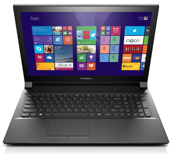 Lenovo B50 15.6-Inch Touchscreen Laptop (59422955) Black