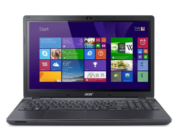 Acer Aspire E 15 E5-571P-3414 15.6-Inch Touchscreen Laptop (Midnight Black)