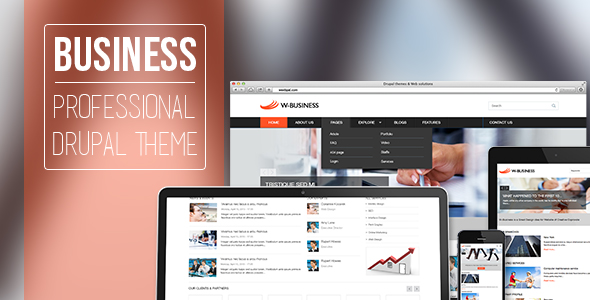 Business - Professional Drupal Theme for Company