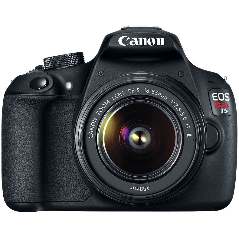 Canon EOS Rebel T5 EF-S 18-55mm IS II Digital SLR