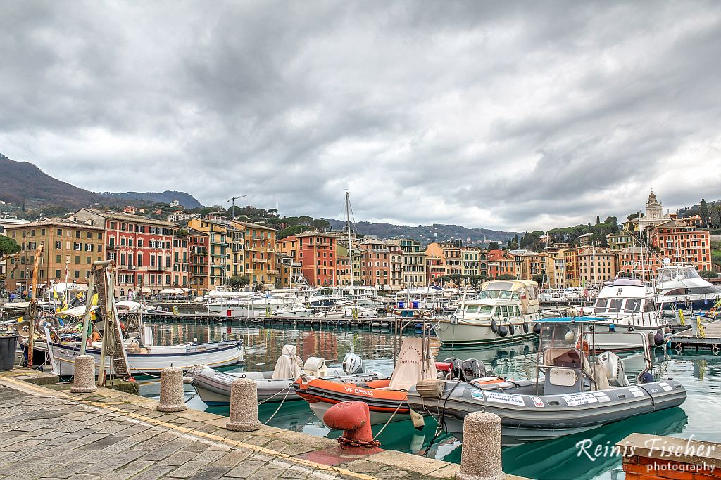 Portofino bay in Italy