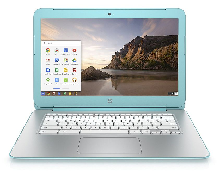 HP Chromebook 14 Inch Laptop (NVIDIA Tegra K1, 2 GB, 16 GB SSD, Ocean Turquoise)