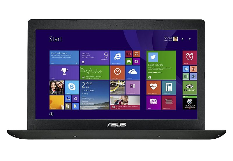Roll over image to zoom in      ASUS X551MA 15.6 Inch Laptop (Intel Celeron, 4 GB, 500GB HDD, Black) - Free Upgrade to Windows 10