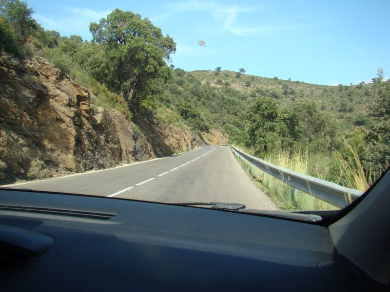 On the road to Cadaques
