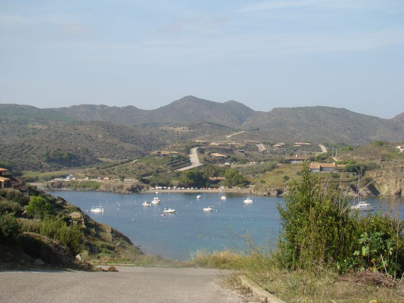 Cadaques bay with boats