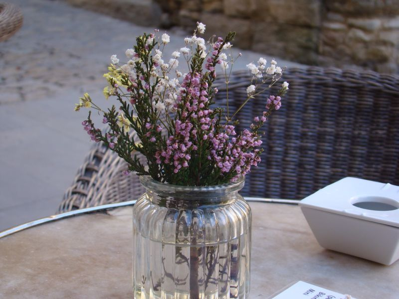 Lavender on table