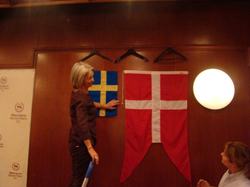 Danes or Swedes are preparing their stand
