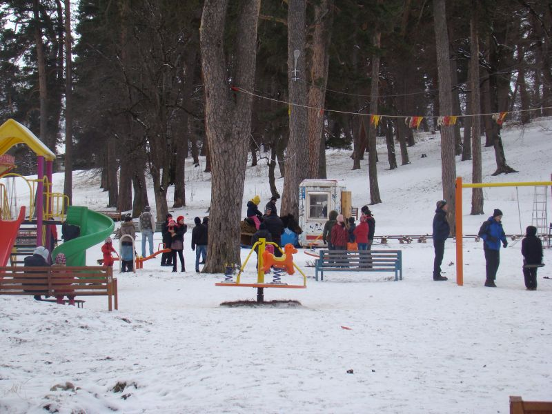 Playground in Bakuriani