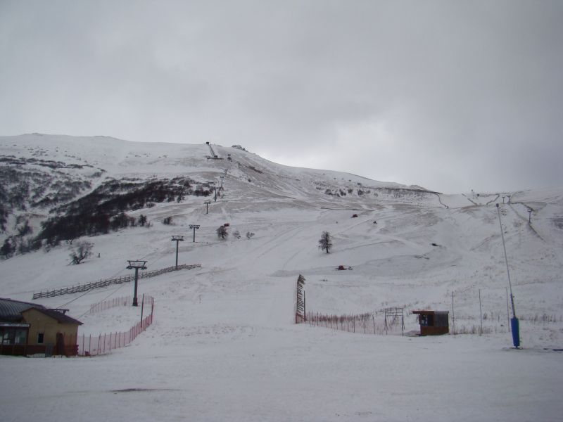 Ski run at Bakuriani