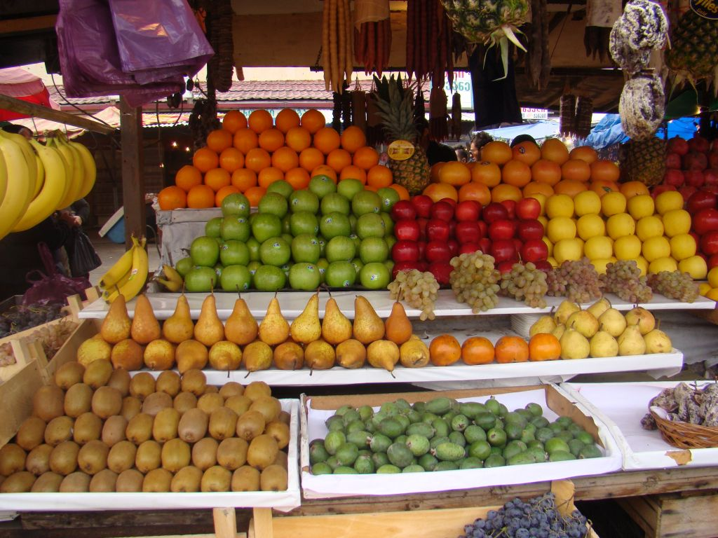 Fruits at Tbilisi Dezerter Bazar