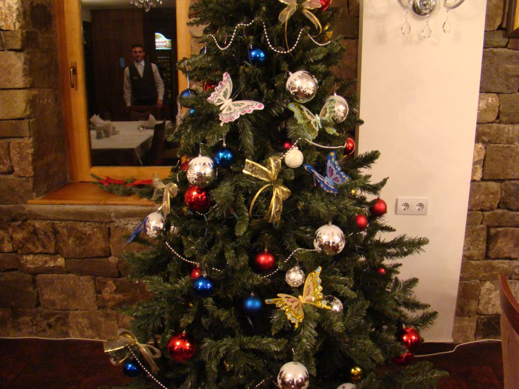 Christmas tree at Hotel Rabath
