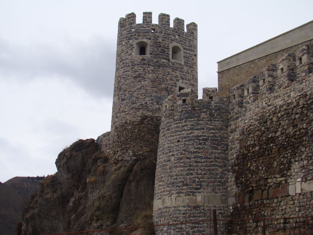 Rabati Fortress Towers built in rocks
