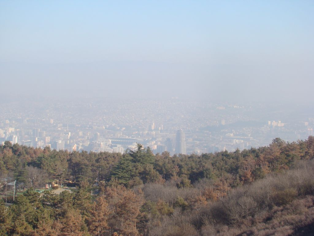 View to Tbilisi city