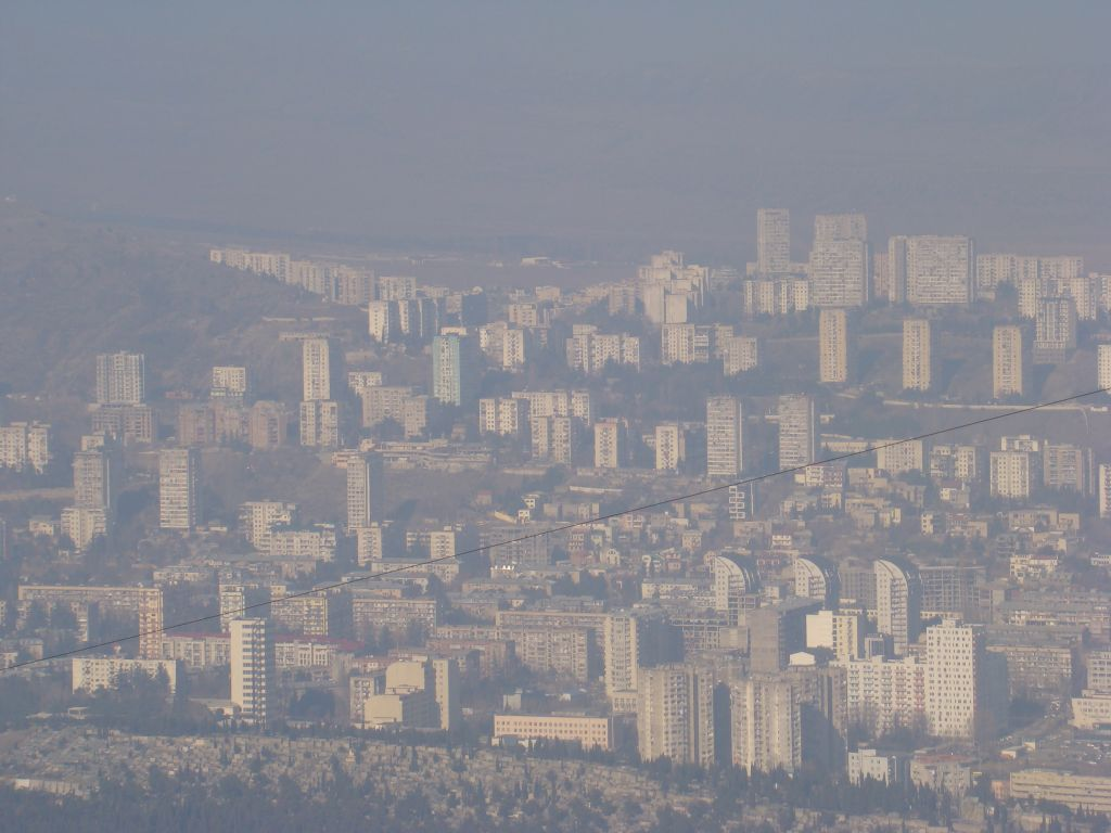 View to Tbilisi