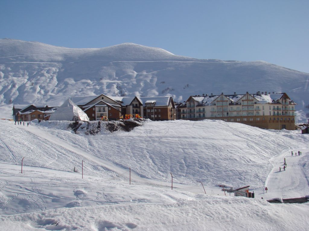 Gudauri skiing resort