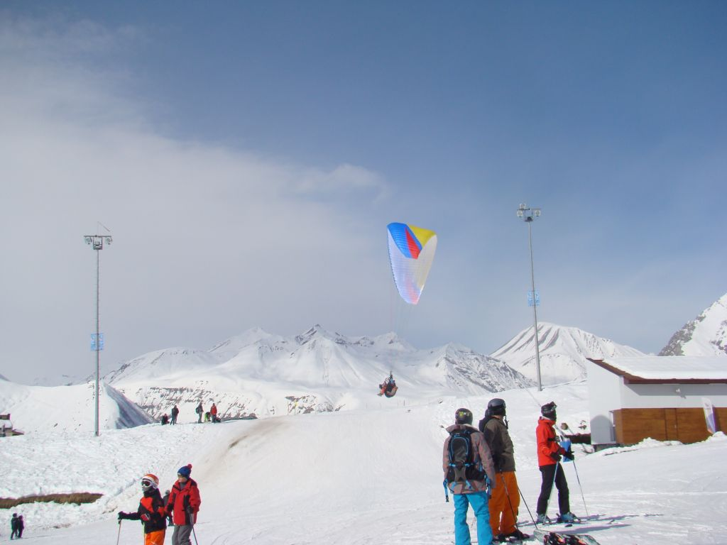 Paragliding at Gudauri