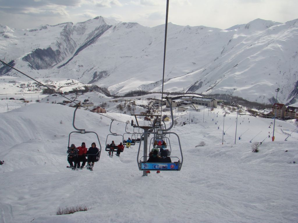 Gudauri ski lifts