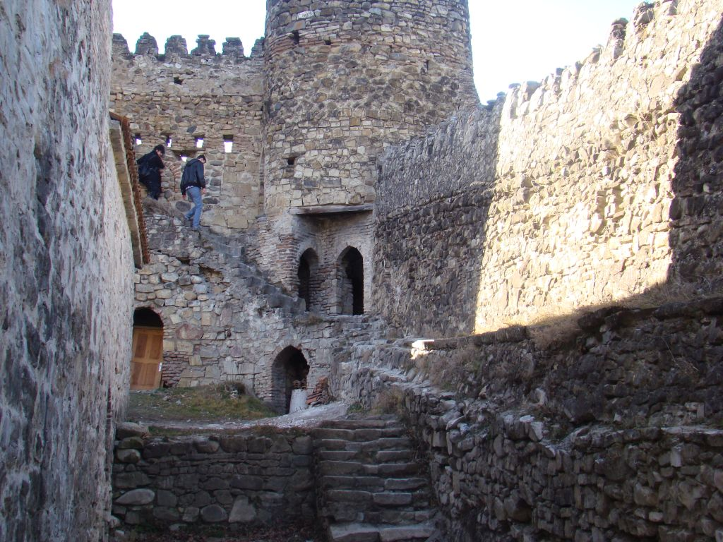 Walls of Ananuri Castle Complex