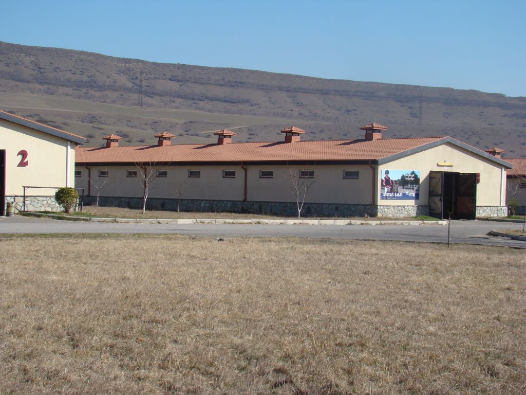 Horse stables at Tbilisi Hippodrom