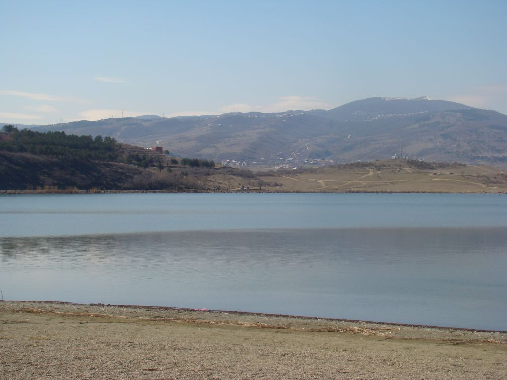 Lisi lake in Tbilisi