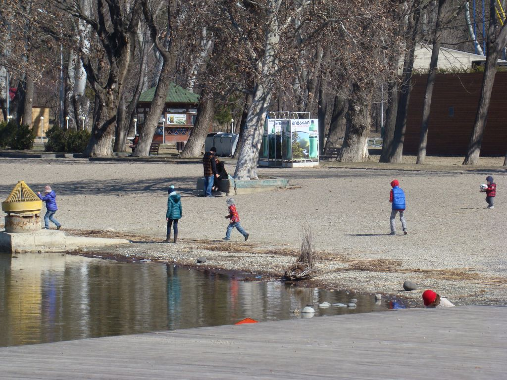 Recreational area near Lisi lake