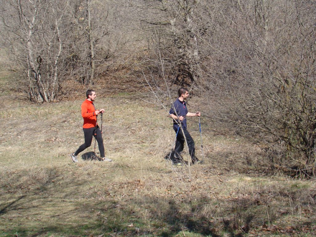 Hikers at Turtle lake trails