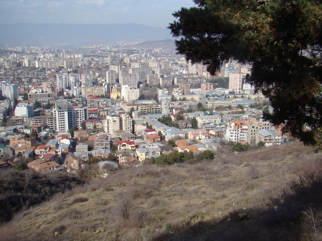 Another angle of Tbilisi