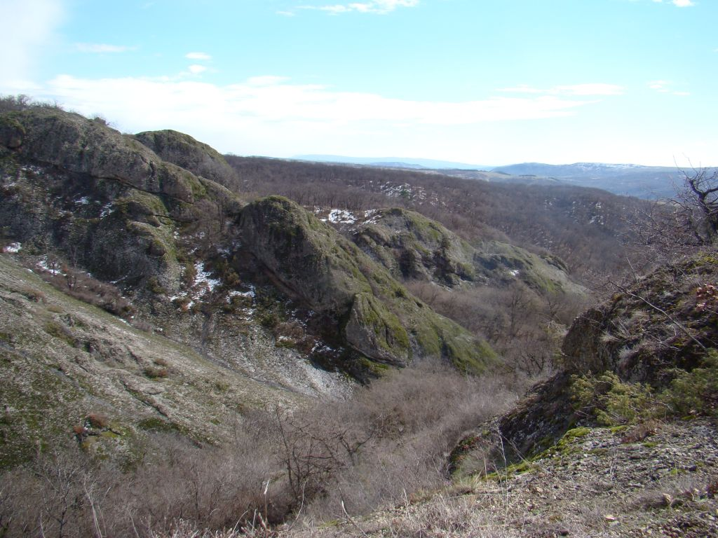 Valley at Birtvisi Canyon