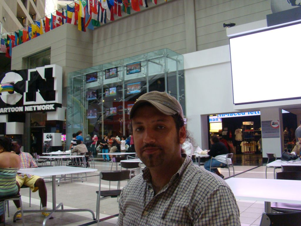 Author of this blog captured at CNN center