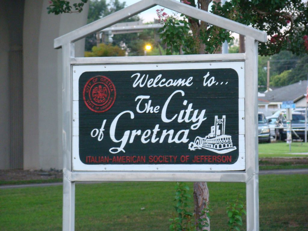 Welcome to the city of Gretna