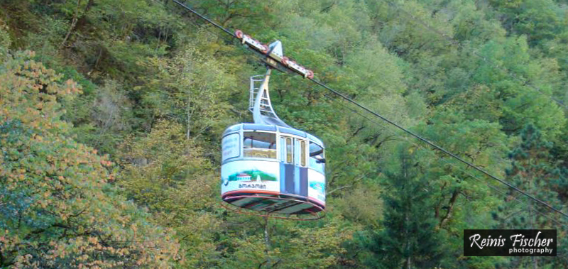 Legendary Borjomi cable car