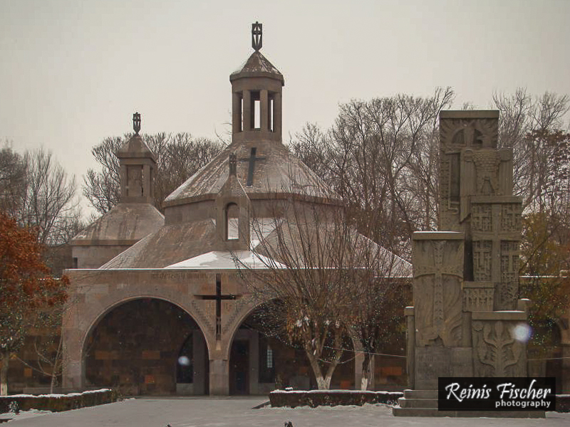 At Etchmiadzin in Armenia