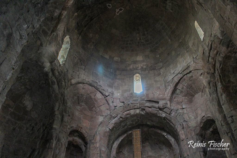 Dome inside Jvari