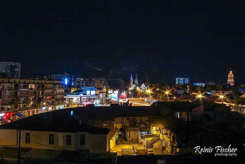 Batumi by night